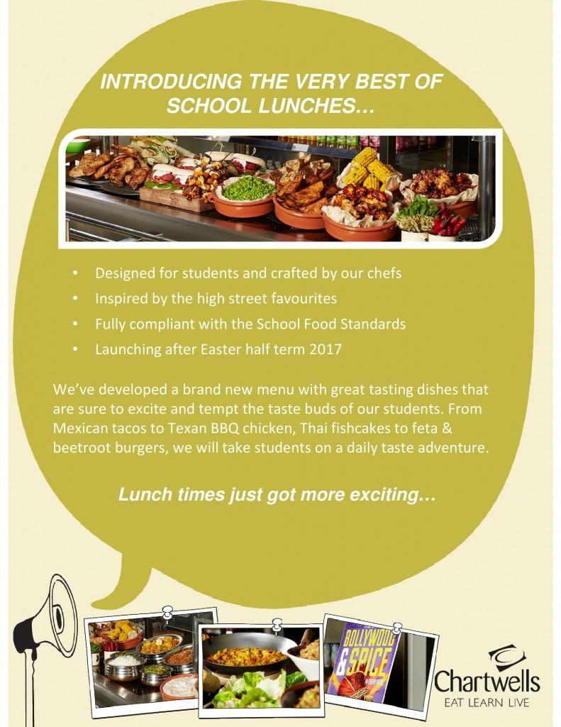 Catering - Dame Alice Owen's School