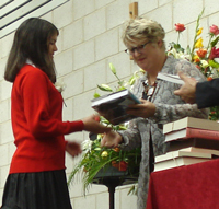 prize giving 2010